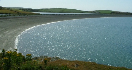 serene Anglesey coast