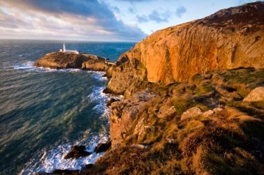 Sunny Anglesey-coast